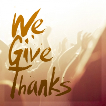 We Give Thanks artwork